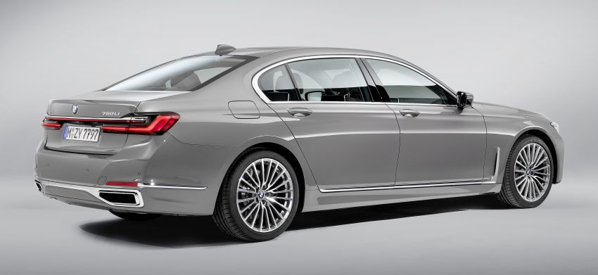 G11/G12 BMW 7 Series LCI debuts – revamped design, new I6 hybrid and V8 powertrains, updated tech Image #912350