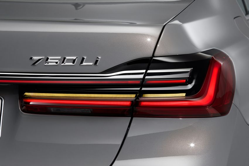 G11/G12 BMW 7 Series LCI debuts – revamped design, new I6 hybrid and V8 powertrains, updated tech Image #912364