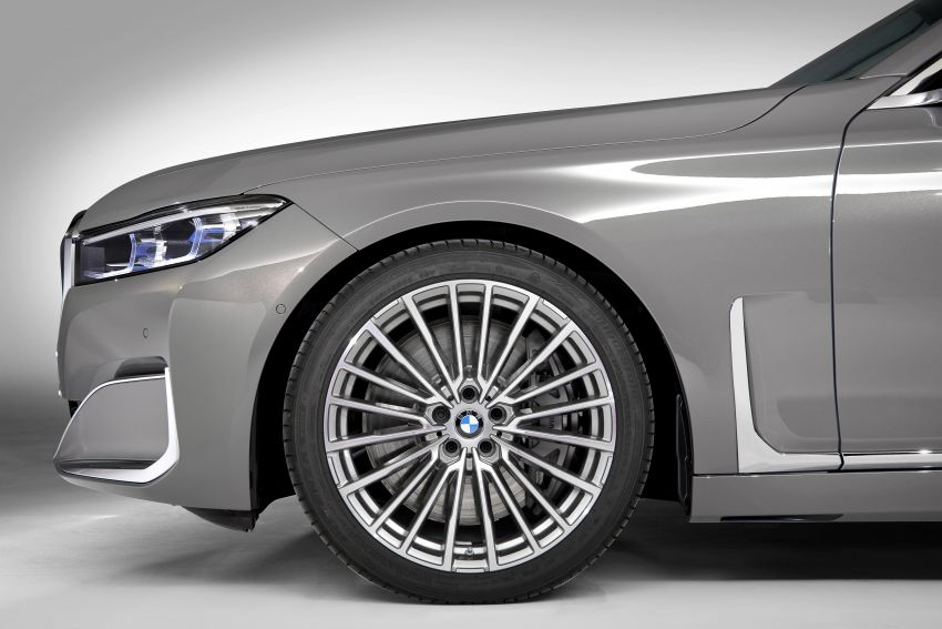 G11/G12 BMW 7 Series LCI debuts – revamped design, new I6 hybrid and V8 powertrains, updated tech Image #912365