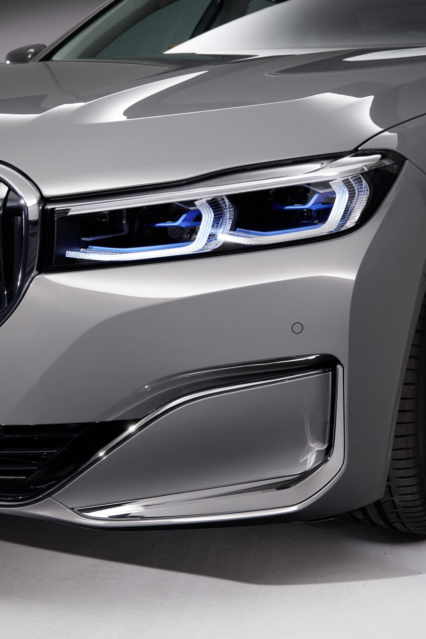G11/G12 BMW 7 Series LCI debuts – revamped design, new I6 hybrid and V8 powertrains, updated tech Image #912366