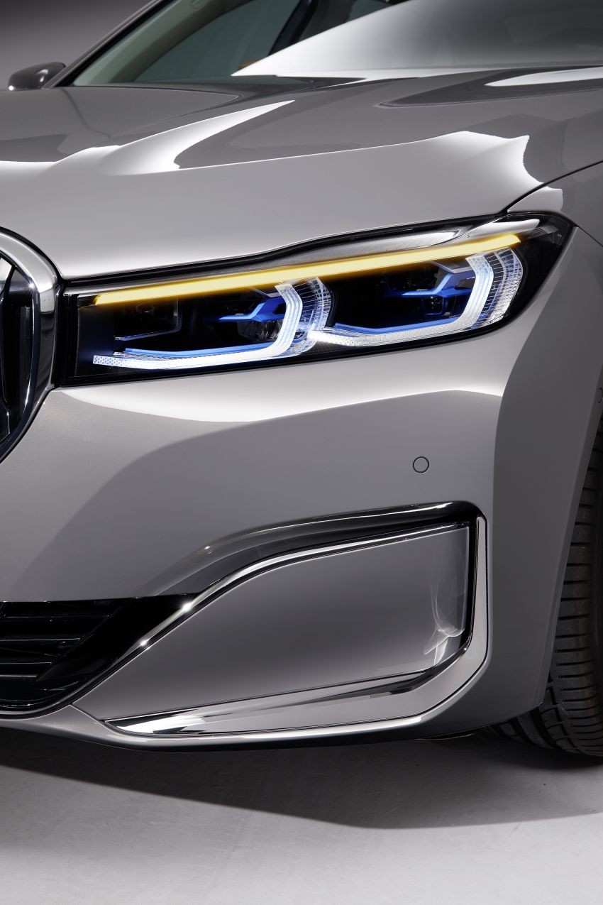 G11/G12 BMW 7 Series LCI debuts – revamped design, new I6 hybrid and V8 powertrains, updated tech Image #912367