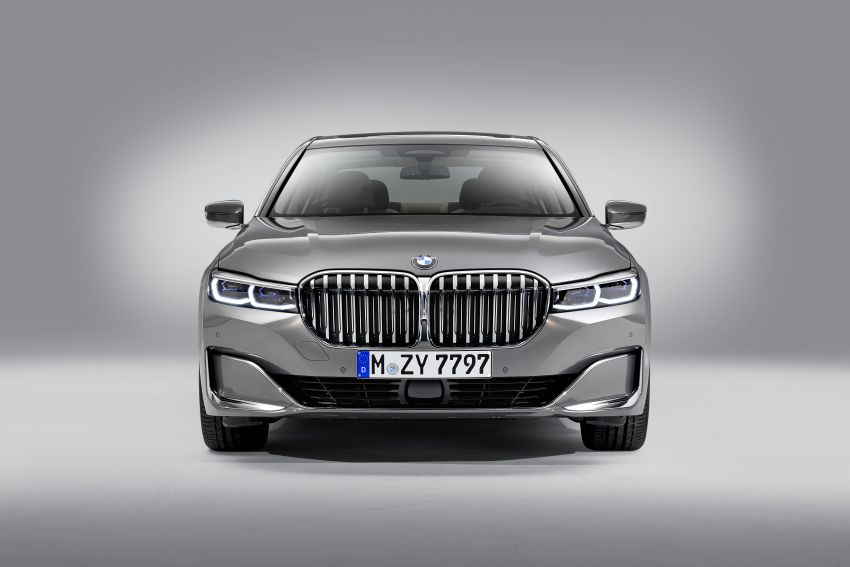 G11/G12 BMW 7 Series LCI debuts – revamped design, new I6 hybrid and V8 powertrains, updated tech Image #912368