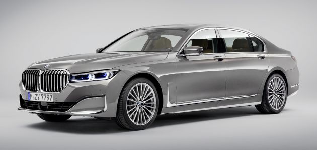 G11 G12 Bmw 7 Series Lci Debuts Revamped Design New I6 Hybrid And