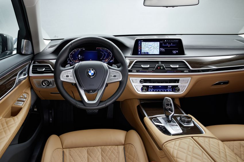 G11/G12 BMW 7 Series LCI debuts – revamped design, new I6 hybrid and V8 powertrains, updated tech Image #912370