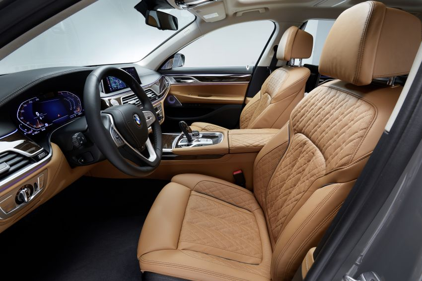 G11/G12 BMW 7 Series LCI debuts – revamped design, new I6 hybrid and V8 powertrains, updated tech Image #912374