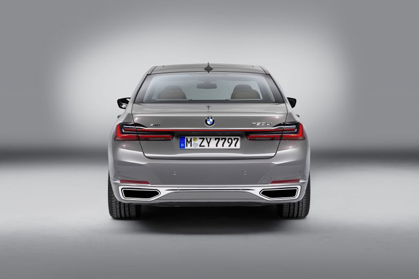 G11/G12 BMW 7 Series LCI debuts – revamped design, new I6 hybrid and V8 powertrains, updated tech Image #912378