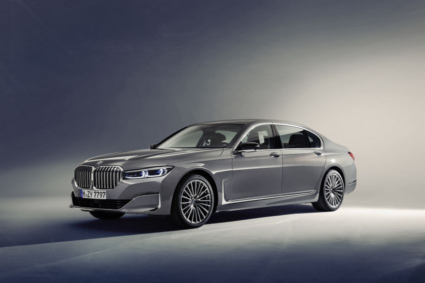 G11/G12 BMW 7 Series LCI debuts – revamped design, new I6 hybrid and V8 powertrains, updated tech Image #912352