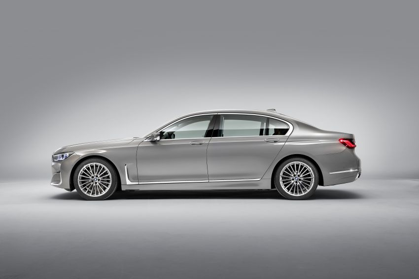 G11/G12 BMW 7 Series LCI debuts – revamped design, new I6 hybrid and V8 powertrains, updated tech Image #912379