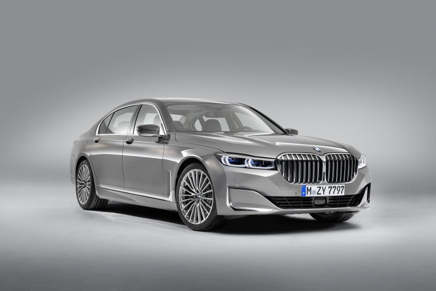 G11/G12 BMW 7 Series LCI debuts – revamped design, new I6 hybrid and V8 powertrains, updated tech Image #912353
