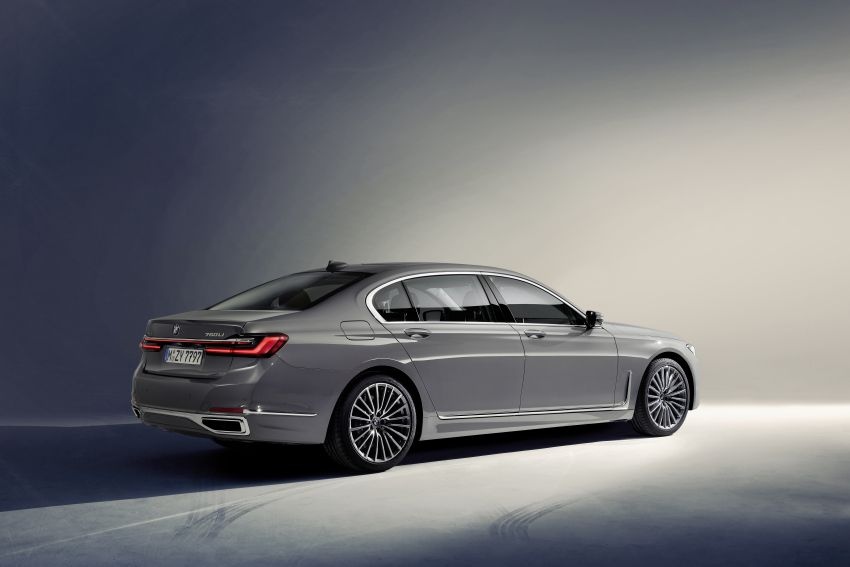 G11/G12 BMW 7 Series LCI debuts – revamped design, new I6 hybrid and V8 powertrains, updated tech Image #912354