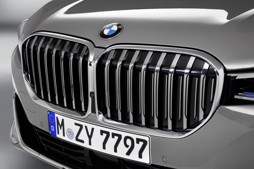 G11/G12 BMW 7 Series LCI debuts – revamped design, new I6 hybrid and V8 powertrains, updated tech Image #912356