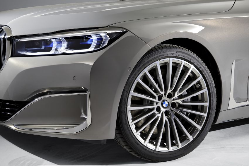 G11/G12 BMW 7 Series LCI debuts – revamped design, new I6 hybrid and V8 powertrains, updated tech Image #912357