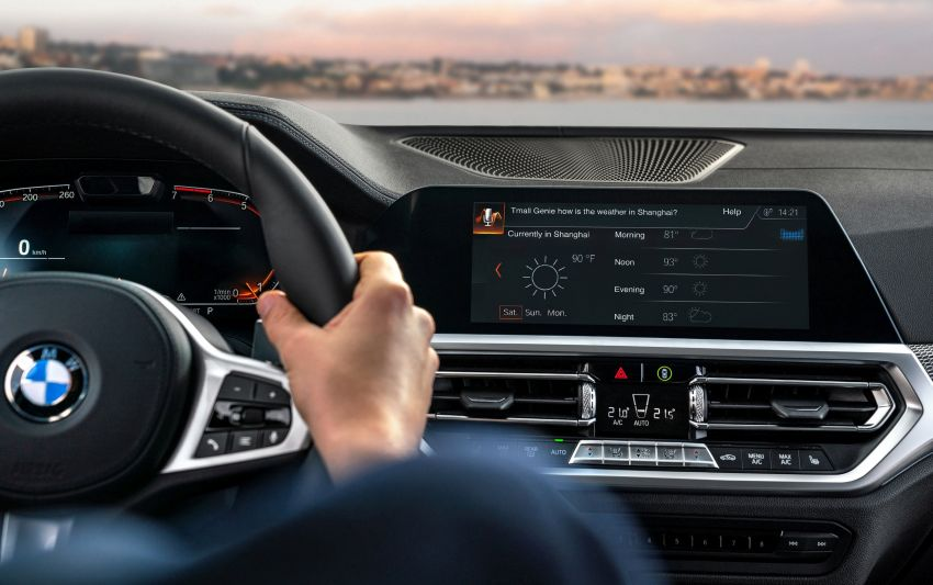 Alibaba Tmall Genie intelligent voice assistant to make its way on to BMW vehicles in China from end-2019 Image #909105