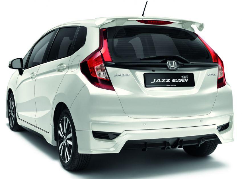 Honda Malaysia lancar Jazz Mugen dan BR-V Special Edition – unit terhad, masing-masing hanya 300 unit Image #924238