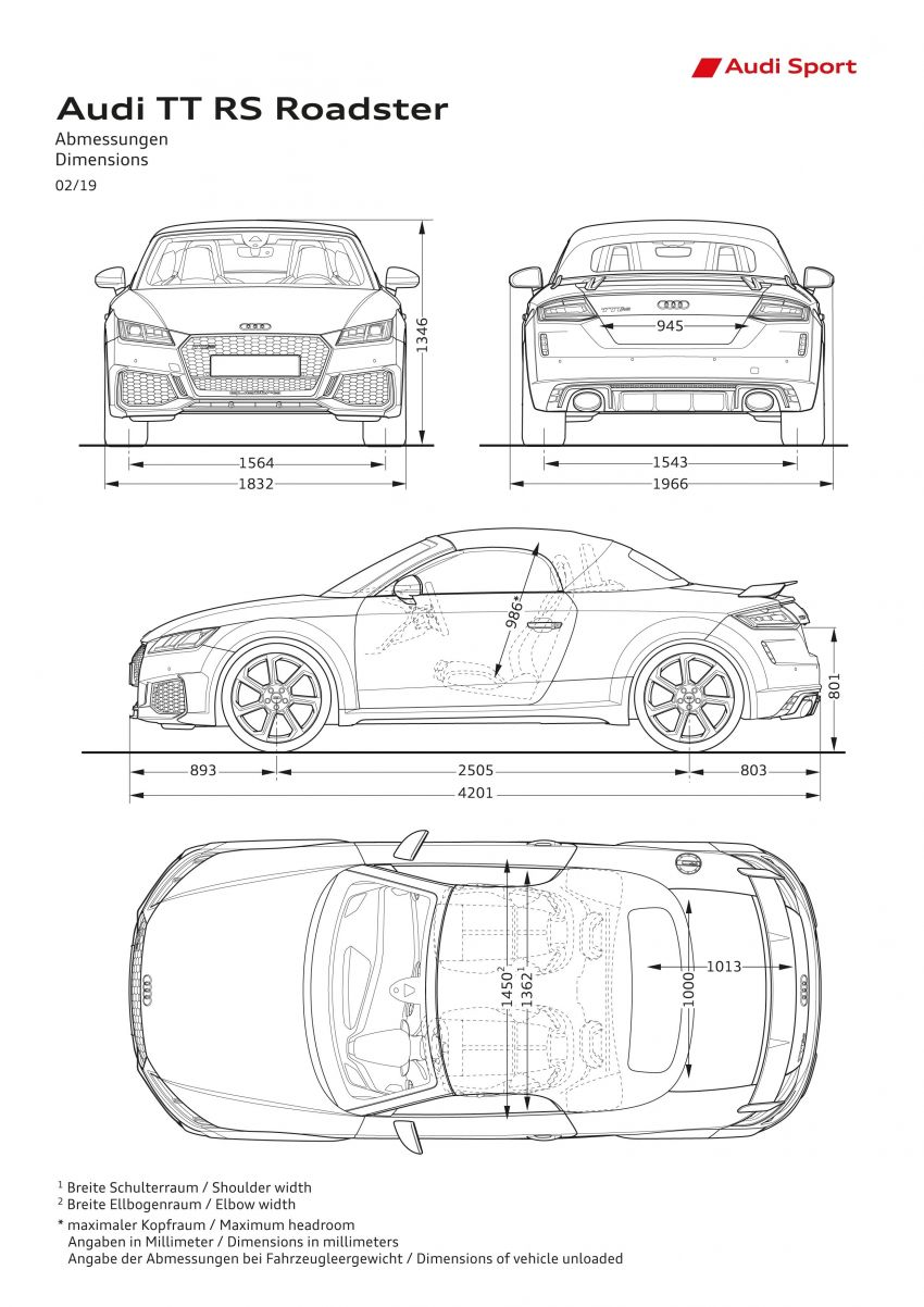 2019 Audi TT RS facelift – new look, no extra power Image #919855