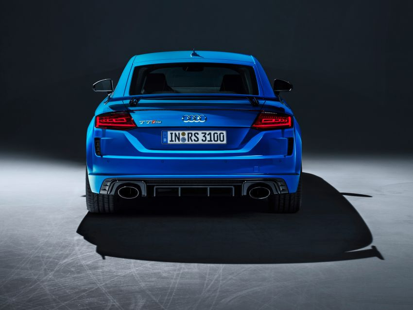 2019 Audi TT RS facelift – new look, no extra power Image #919856