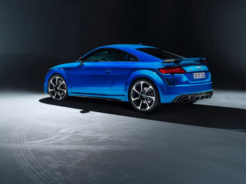 2019 Audi TT RS facelift – new look, no extra power Image #919857