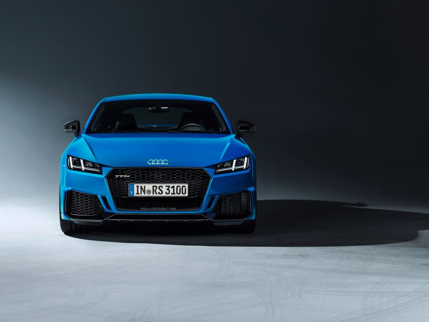 2019 Audi TT RS facelift – new look, no extra power Image #919859