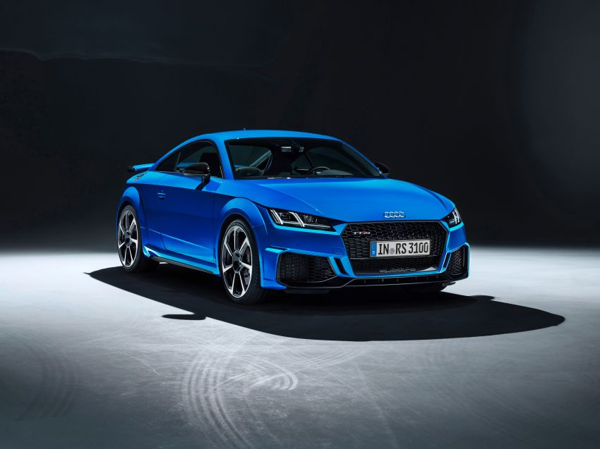 2019 Audi TT RS facelift – new look, no extra power Image #919860