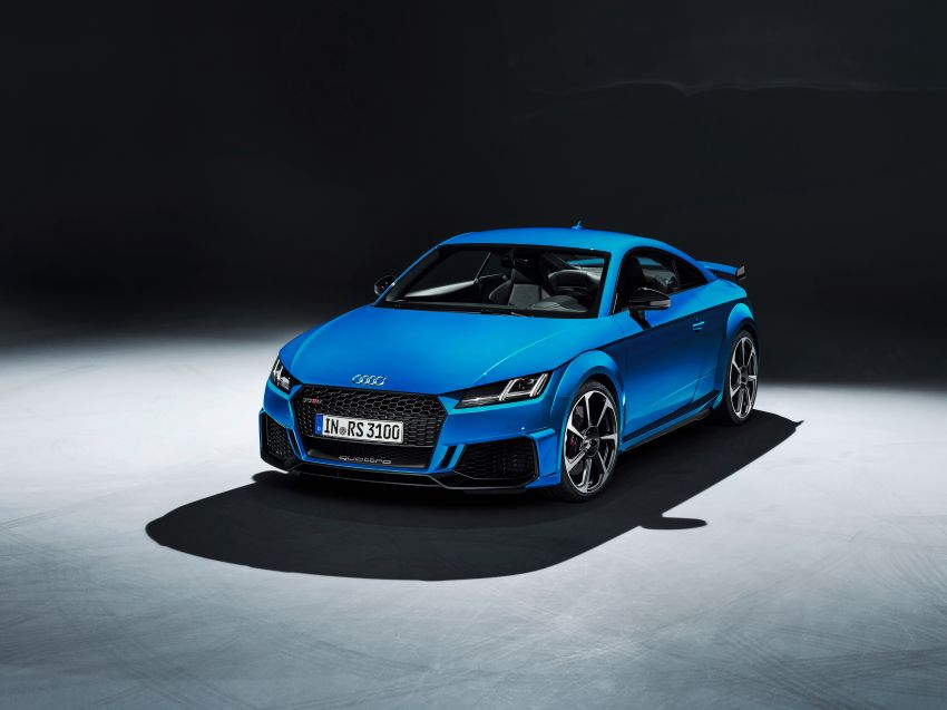 2019 Audi TT RS facelift – new look, no extra power Image #919861