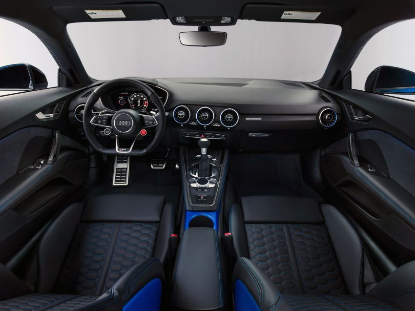 2019 Audi TT RS facelift – new look, no extra power Image #919865