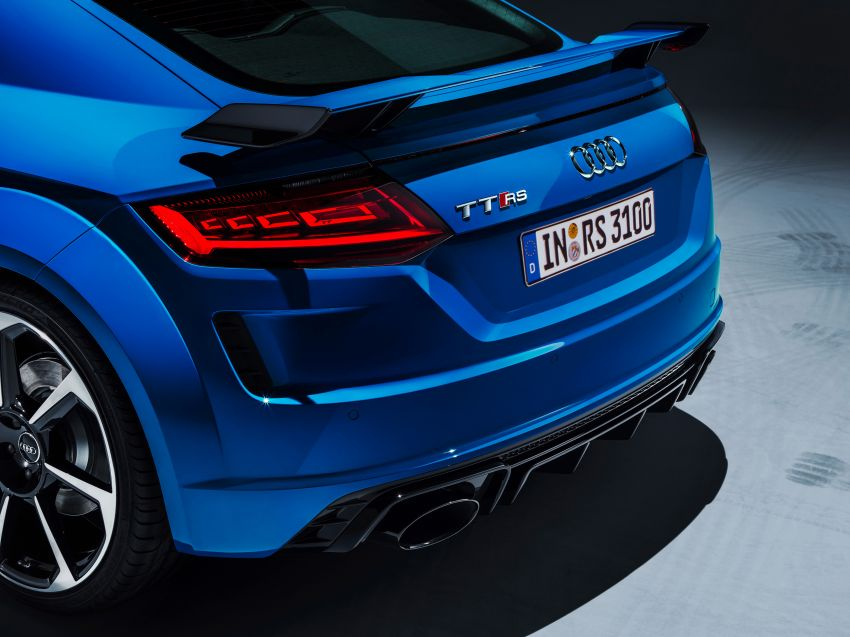 2019 Audi TT RS facelift – new look, no extra power Image #919885