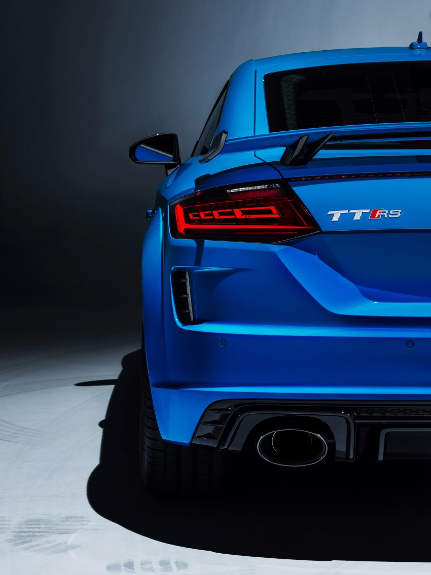 2019 Audi TT RS facelift – new look, no extra power Image #919891