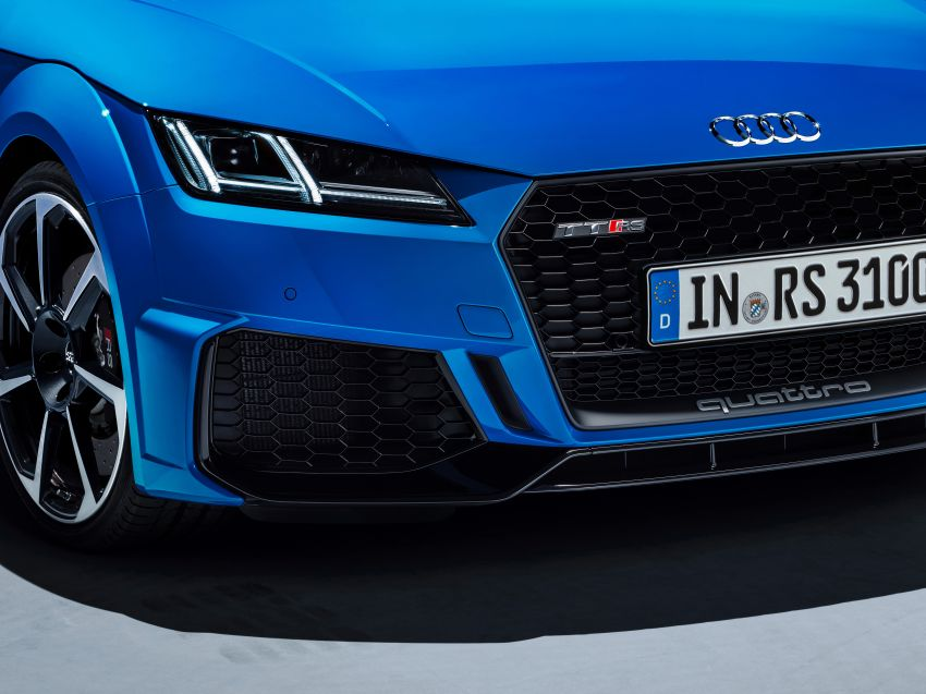 2019 Audi TT RS facelift – new look, no extra power Image #919893