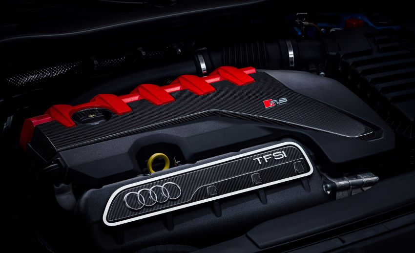 2019 Audi TT RS facelift – new look, no extra power Image #919896