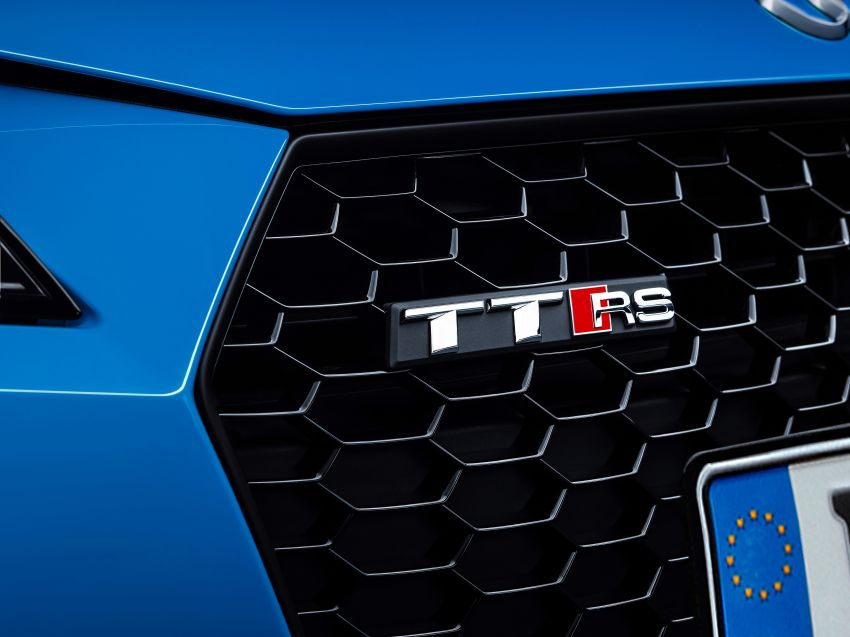 2019 Audi TT RS facelift – new look, no extra power Image #919897