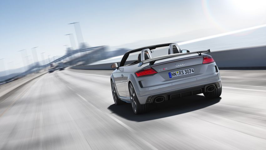 2019 Audi TT RS facelift – new look, no extra power Image #919898