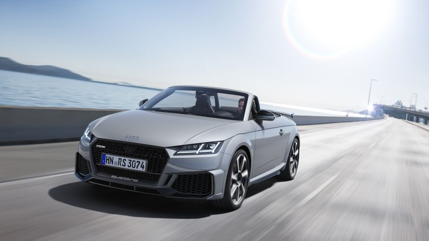 2019 Audi TT RS facelift – new look, no extra power Image #919899