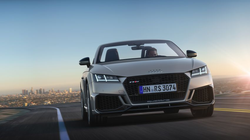 2019 Audi TT RS facelift – new look, no extra power Image #919900