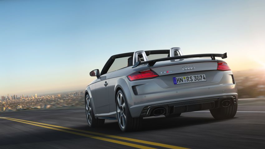 2019 Audi TT RS facelift – new look, no extra power Image #919901