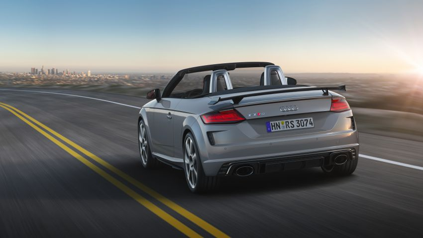 2019 Audi TT RS facelift – new look, no extra power Image #919902