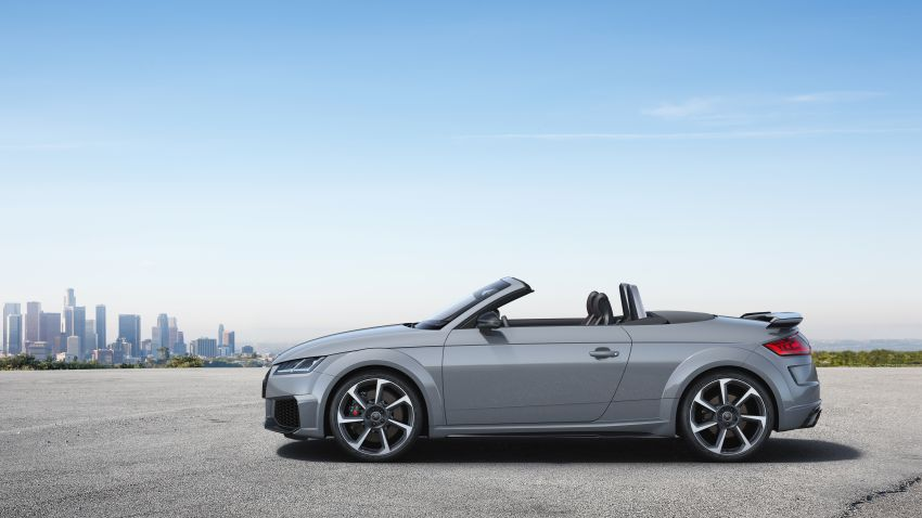 2019 Audi TT RS facelift – new look, no extra power Image #919903