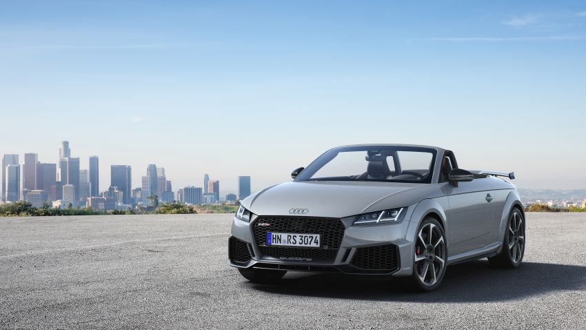 2019 Audi TT RS facelift – new look, no extra power Image #919905