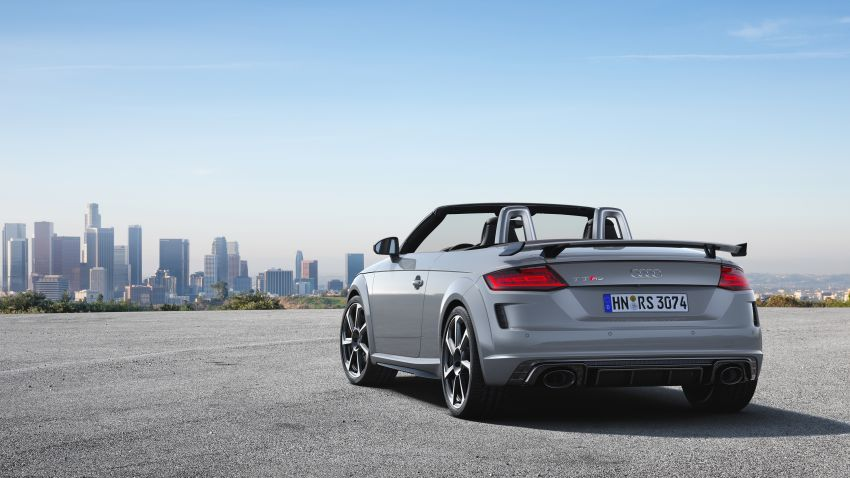 2019 Audi TT RS facelift – new look, no extra power Image #919907