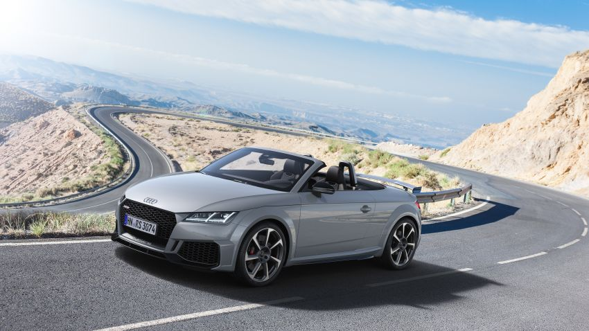 2019 Audi TT RS facelift – new look, no extra power Image #919909