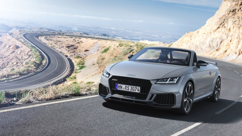2019 Audi TT RS facelift – new look, no extra power Image #919910