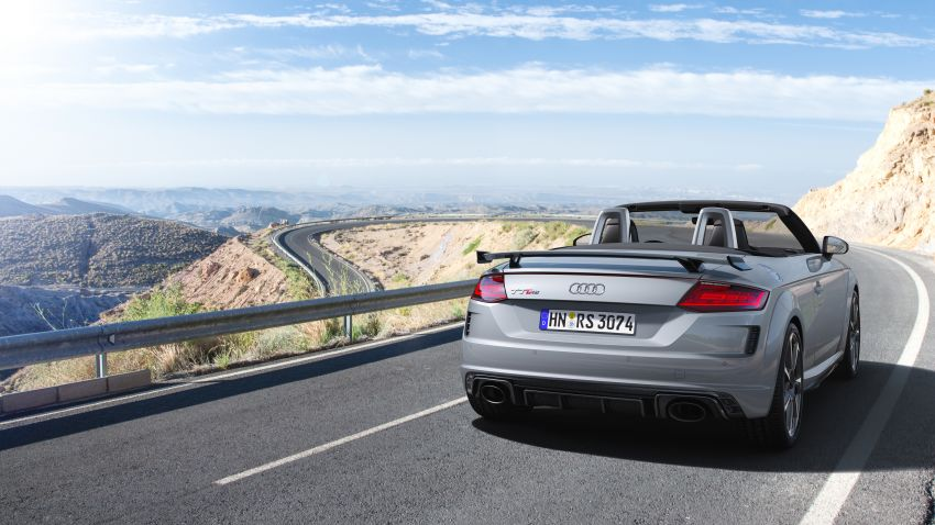 2019 Audi TT RS facelift – new look, no extra power Image #919911