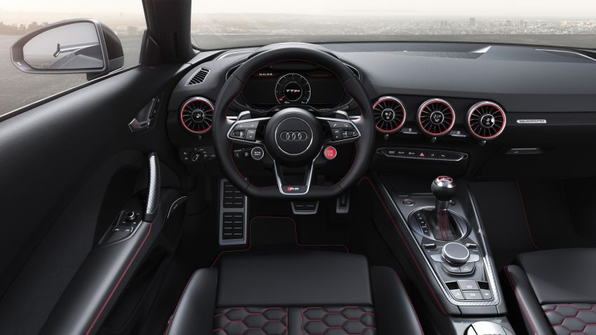 2019 Audi TT RS facelift – new look, no extra power Image #919912