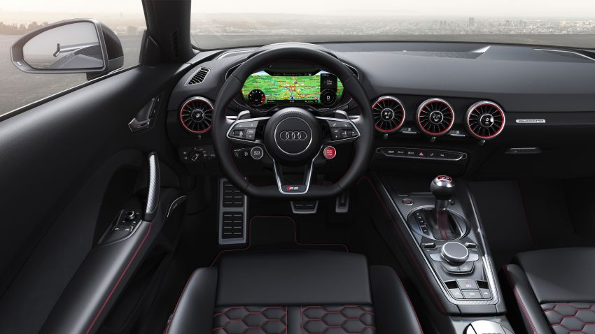 2019 Audi TT RS facelift – new look, no extra power Image #919914