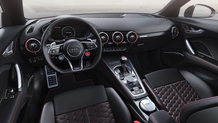 2019 Audi TT RS facelift – new look, no extra power Image #919915