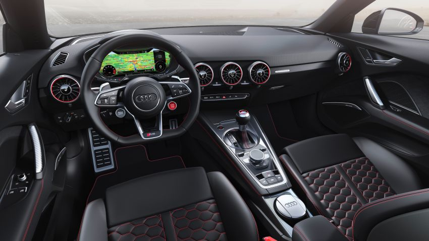 2019 Audi TT RS facelift – new look, no extra power Image #919916