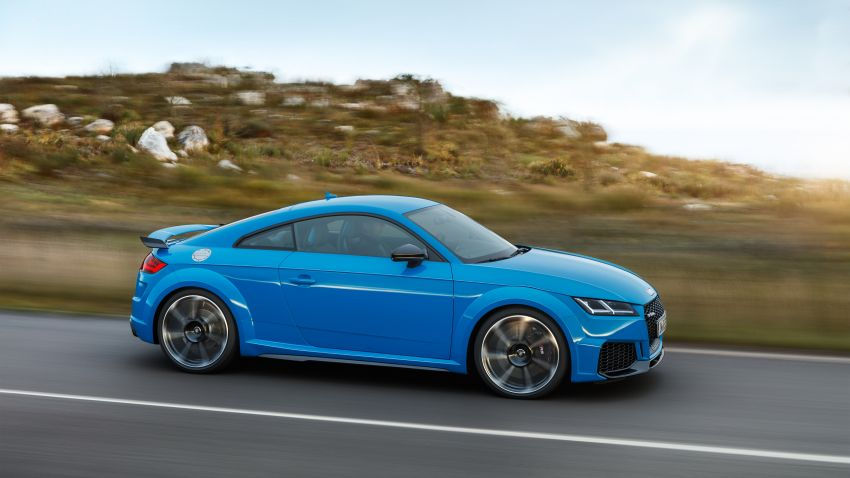 2019 Audi TT RS facelift – new look, no extra power Image #919919