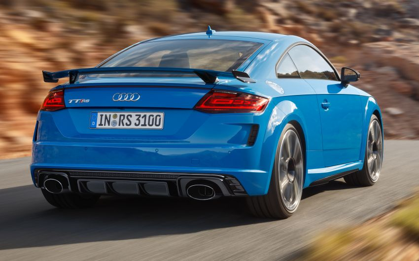 2019 Audi TT RS facelift – new look, no extra power Image #919920