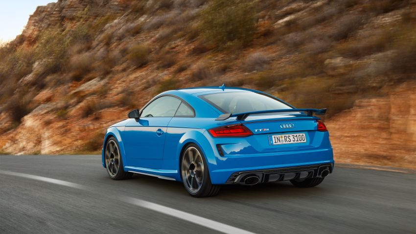 2019 Audi TT RS facelift – new look, no extra power Image #919921