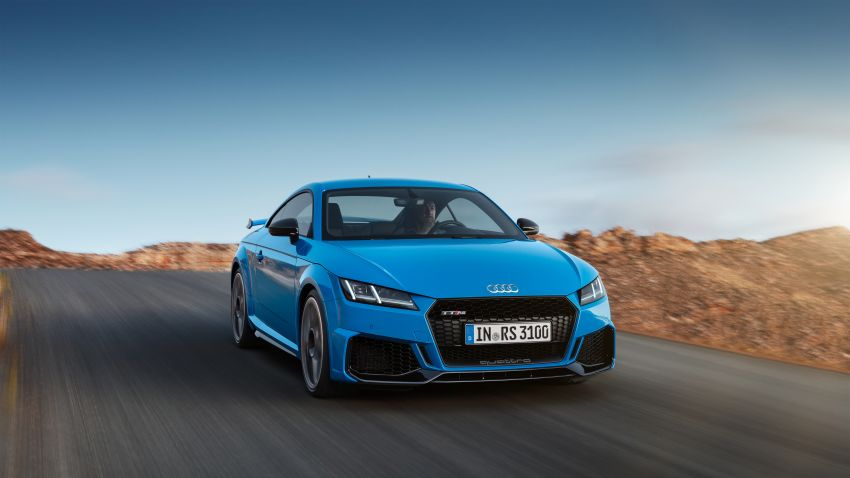 2019 Audi TT RS facelift – new look, no extra power Image #919922