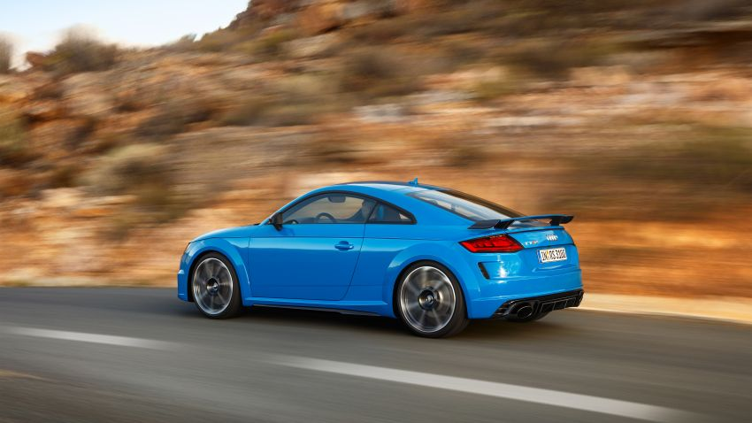 2019 Audi TT RS facelift – new look, no extra power Image #919923